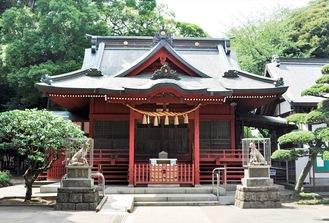 江戸時代から矢部の地に鎮座する村富神社