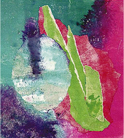 色彩豊かな版画展