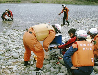 水難事故を防げ