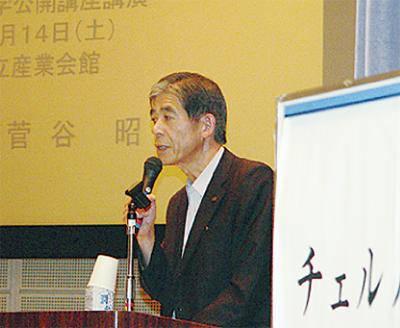 松本市長、原発事故語る