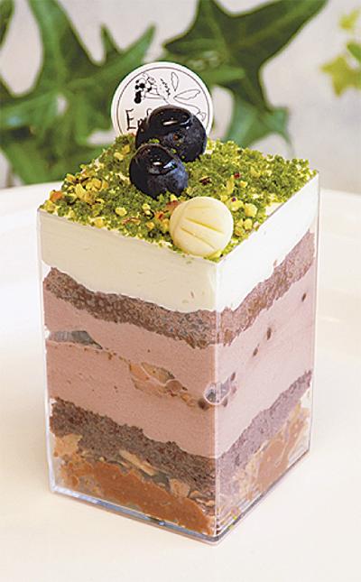 「地層ケーキ」販売