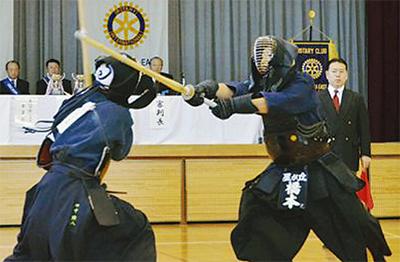 剣道大会で青少年育成