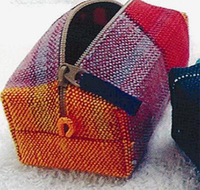 心をこめた機織り製品