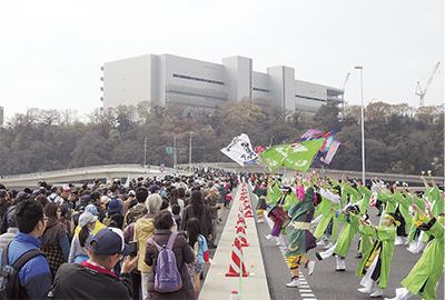 圏央道をお散歩18500人