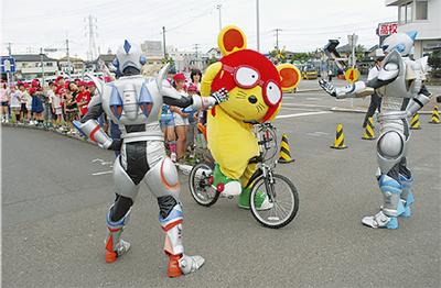 ちゅ〜太と自転車講習