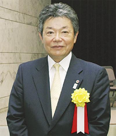 坂本久氏((株)山久建設不動産代表取締役)に国交大臣表彰