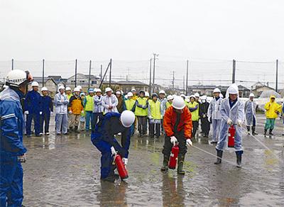 震災見据え防災訓練
