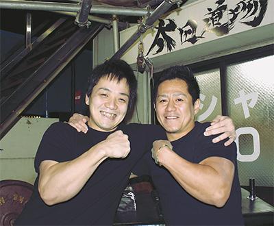 腕相撲「右」で日本一