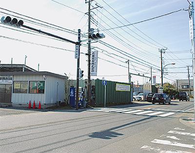 夢小通学路に信号機新設 安全確保へ地元が一丸