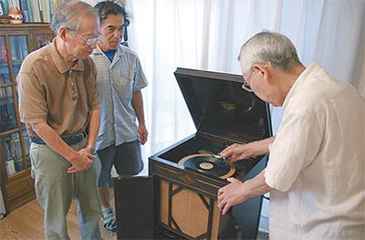 89歳の蓄音機で慰労