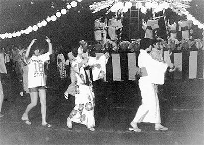 上溝盆踊り大会復活