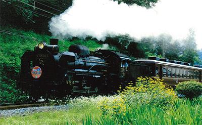 ロマン感じる鉄道写真展