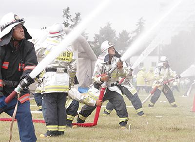 2千人規模で防災訓練