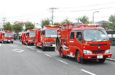 消防が運転研修