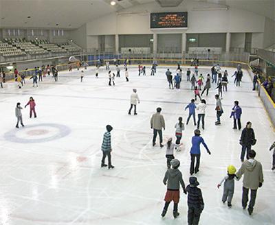 スケート場がオープン 本日20日...