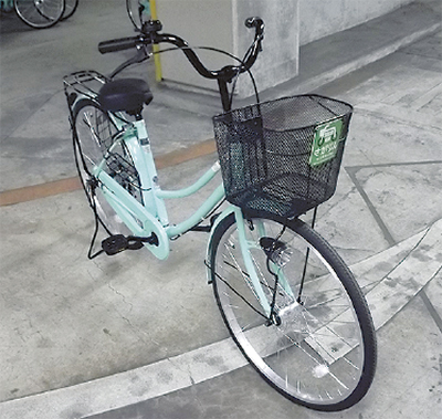 貸出し用自転車を一新