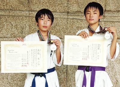全日本大会で2選手入賞