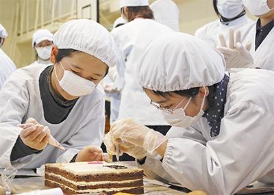 児童の夢、ケーキに