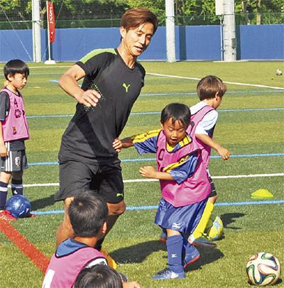 福西氏招きサッカー教室