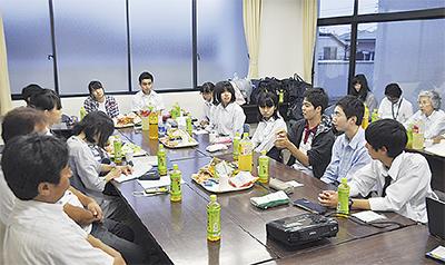 中高生主体で対策会議