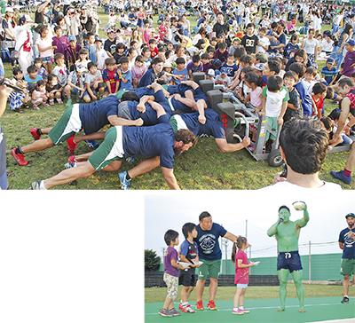 初夏の祭典 2千人で盛況