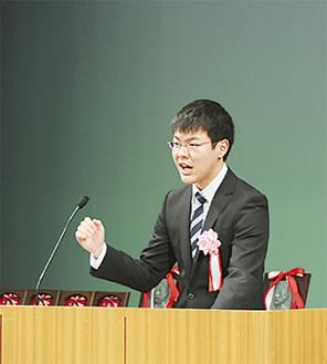 前年優勝の横田伶緒さん