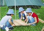 夏のキャンプの様子(第30団提供)