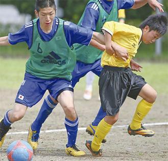 大会へ向け練習に精を出す日本代表メンバー