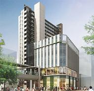 新たに20階建てビル