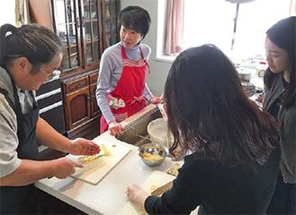 外国人向け料理教室を体験