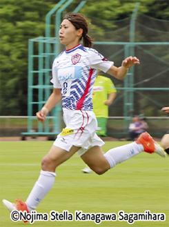 同点ゴールの田中陽子選手
