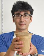 カップ麺用の器を創作