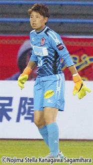 今季初先発を果たしたGK田尻有美選手