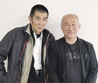 芸能・文化団体設立を目指す高崎さん(左)と深作さん