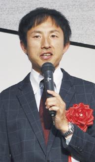 講演した鈴木選手