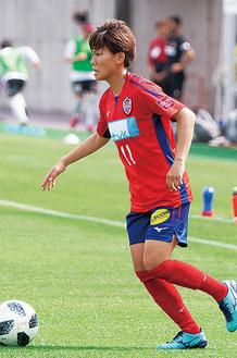 チーム唯一の得点をあげた南野亜里沙選手(提供写真)