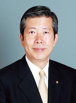 講演する山口那津男氏