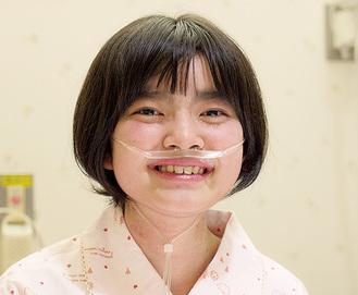 難病を患う田村真子さん(同会提供)