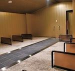 館内の岩盤浴設備
