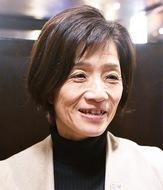 津田桂さん、聖火をつなぐ