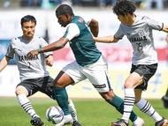 SC、強豪磐田に惜敗