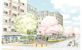 地区の将来のイメージ=相模原市提供