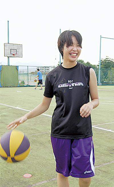 女子バスケ日本代表に