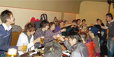 「東林盛り上げる」 熱く、ゆるく、若者集う