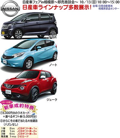 日産車ズラリ20台