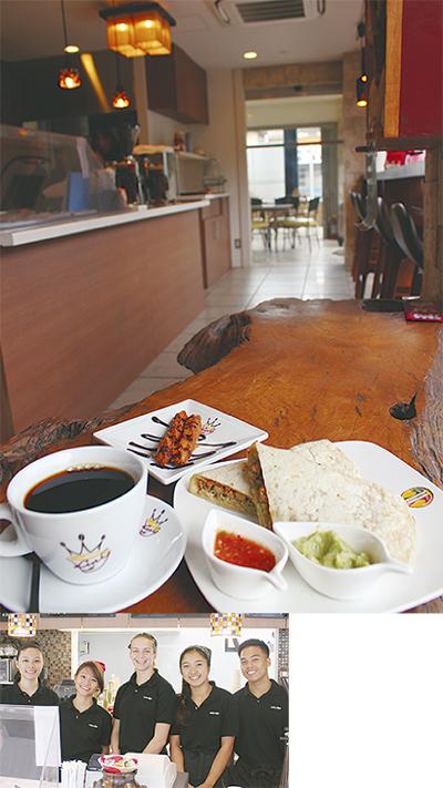 「外国気分」なカフェ上陸