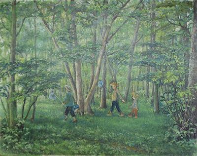 森の夏休み
