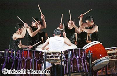 和太鼓の芸能集団「鼓童」