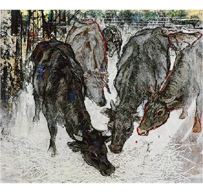 「見捨てられた牛」