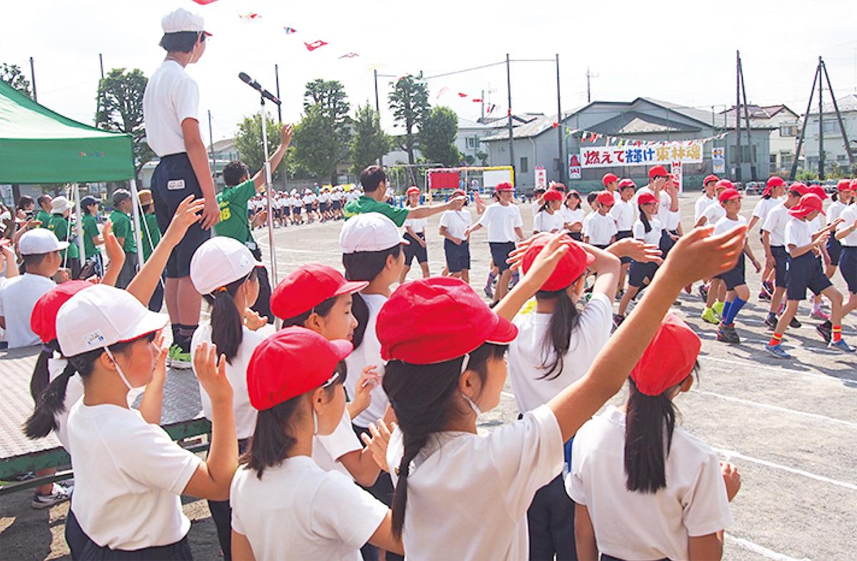 児童が考案 新たな運動会
